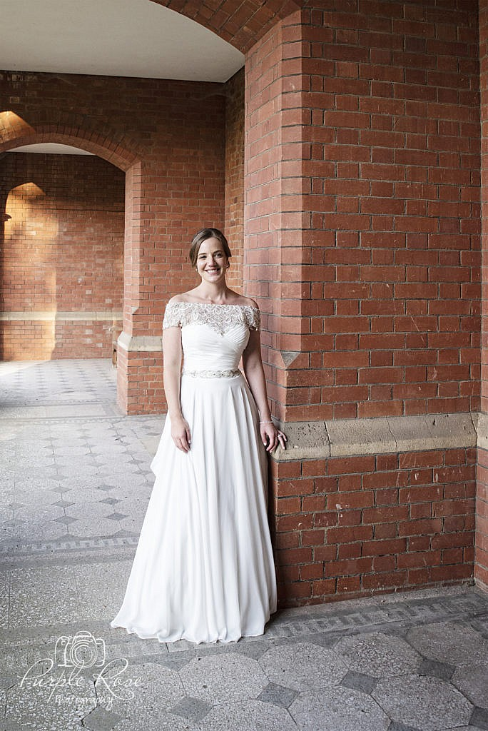 Bridal portrait at Bedford School 5