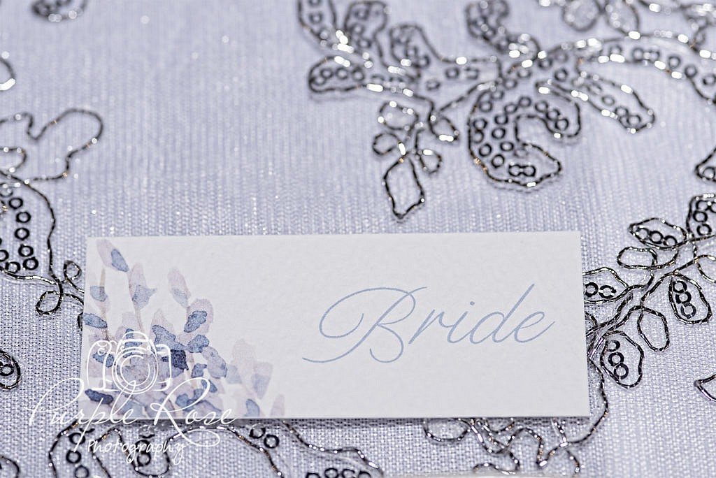 Brides name place