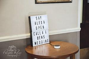 Alexa wedding seating plan
