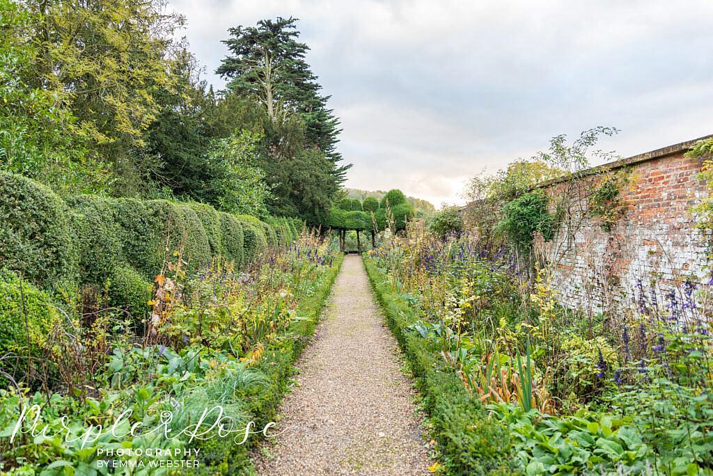 Gardens at Kelmarsh Hall Northampton