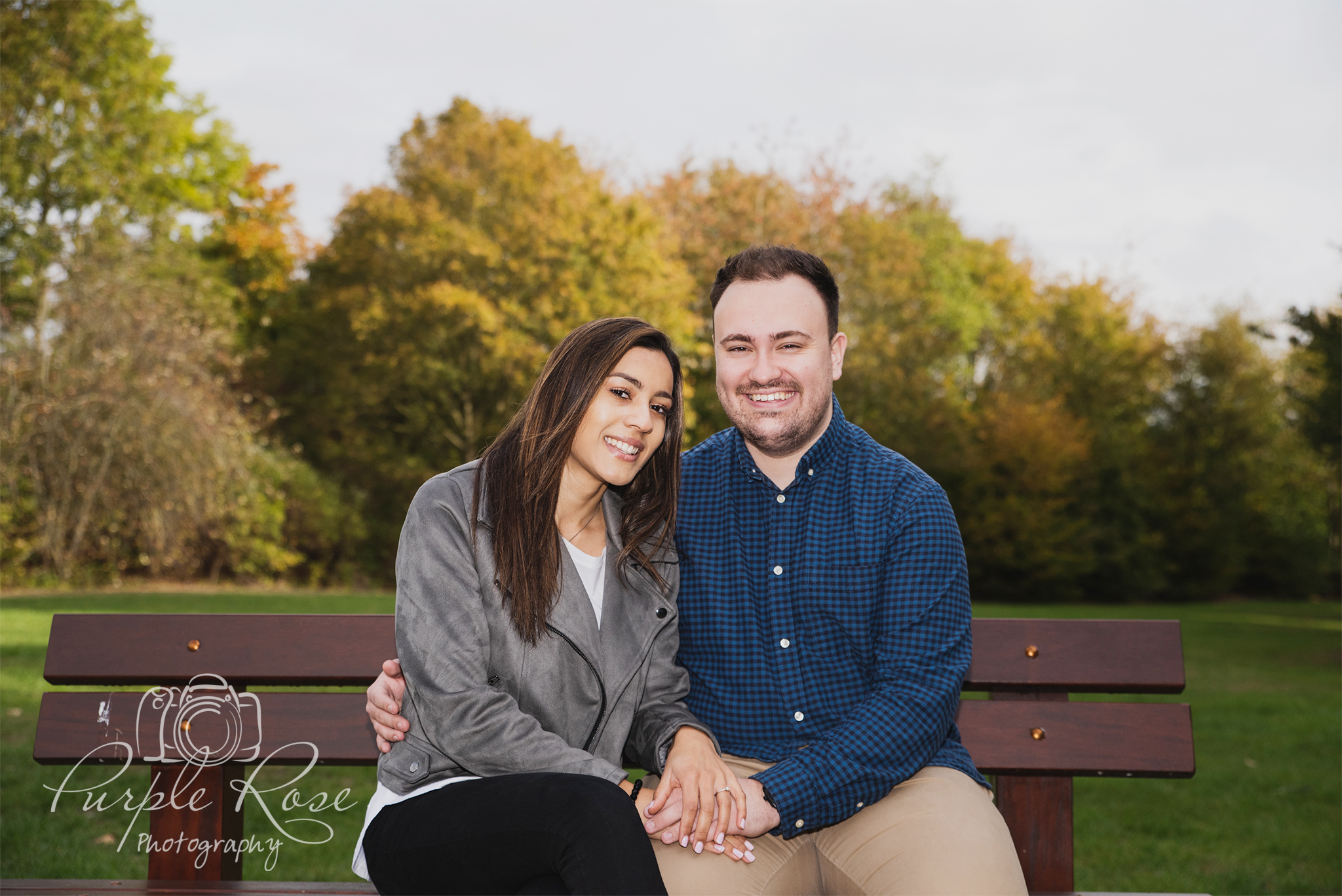 Pre wedding shoot in The Tree Cathedral in Milton Keynes