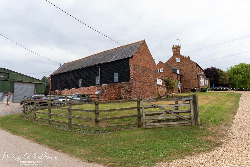 View on Newton Park Barn Wedding venue