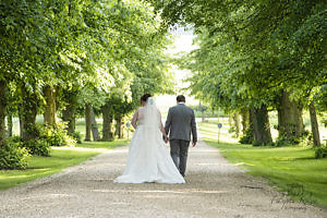 Summer wedding photography at Chicheley Hall