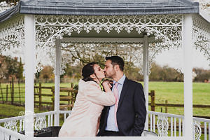 Woughton House winter wedding
