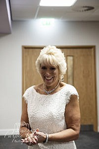Bride at Milton Keynes Registry office