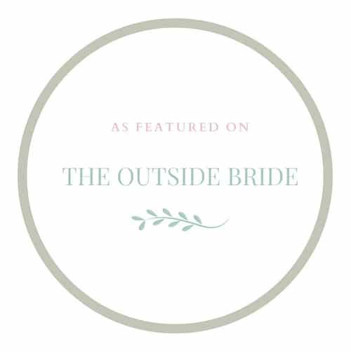 The outside bride logo