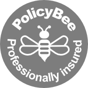 Policy bee logo