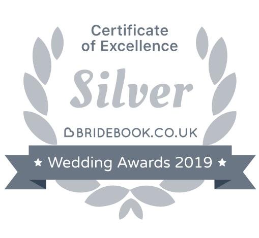 Bridebook silver award