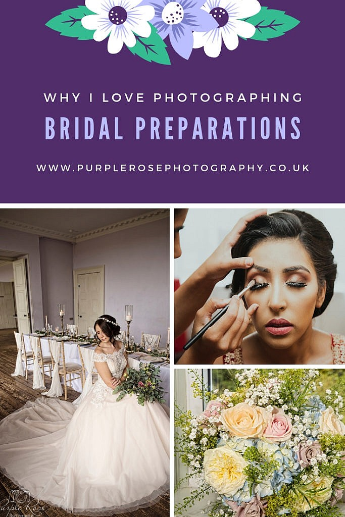 Photos of brides getting ready for their wedding day