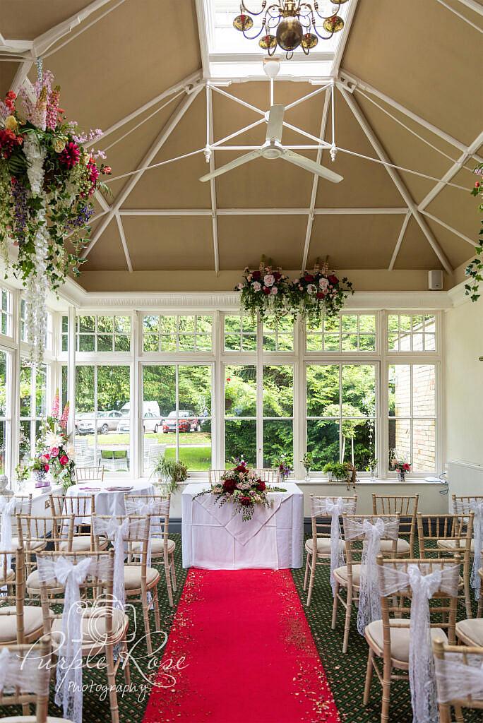 Wedding ceremony room Bedford