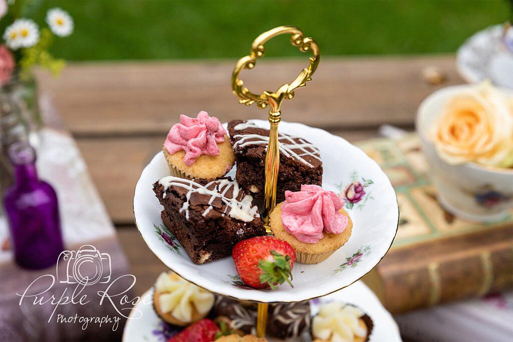 Sweet treats for a wedding reception