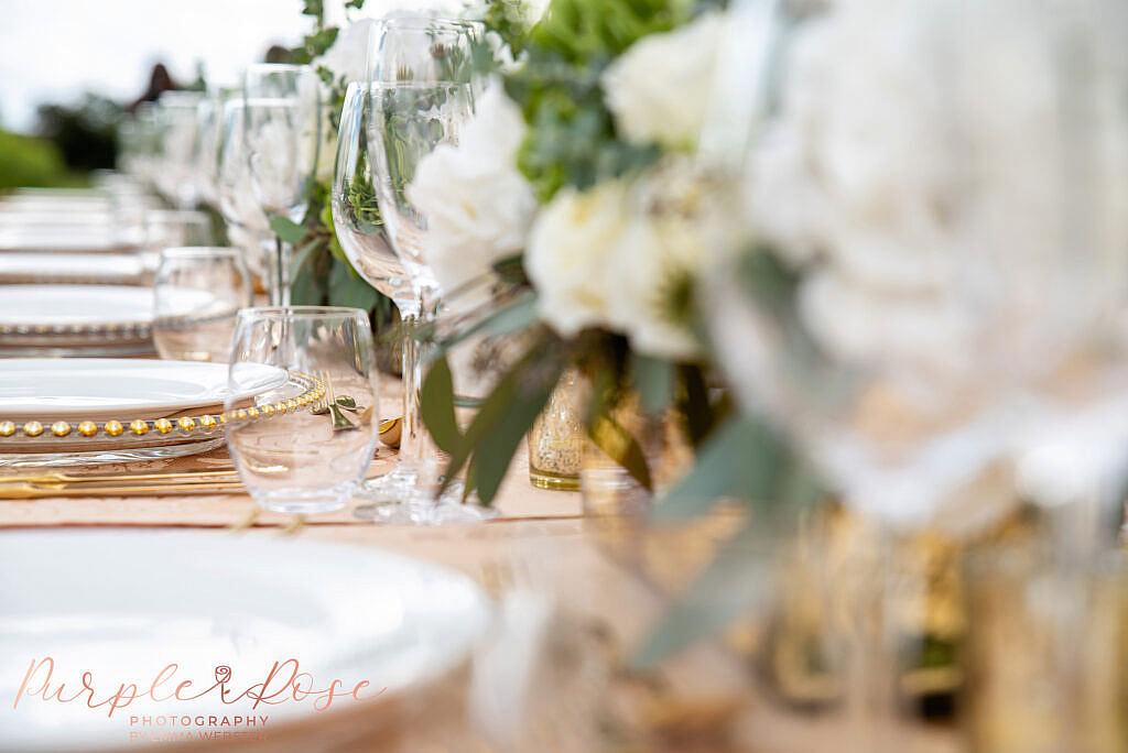 Table set up details