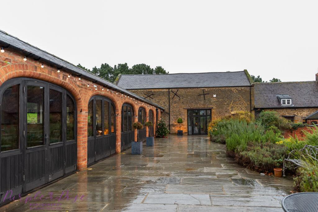 Doodmoor House on a rainy day